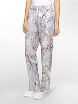 Calvin Klein Floral Straight Pants