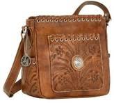 American West Women's Harvest Moon Cross Body Bag Pockets
