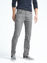 Banana Republic Gray Slim Traveler Jean