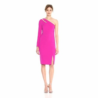 Laundry by Shelli Segal Women's One Sleeve Crepe Dress