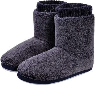 UK 3.5 UK 4 Grey Esmara Slipper Boots Pom Poms Cute Slippers EUR 36 EUR 37