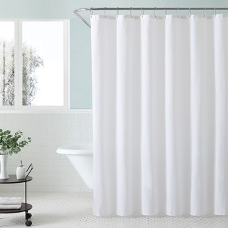 Excell Div Waterproof Fabric Shower Curtain