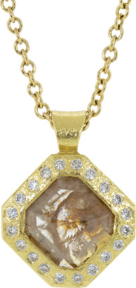 Todd Reed Natural Fancy Diamond Pendant Necklace
