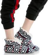 Sole Society Navajo Pattern Short Slipper Socks