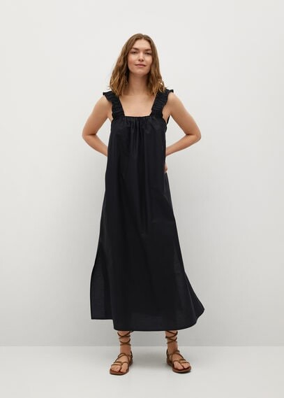 100% Cotton Midi Dress