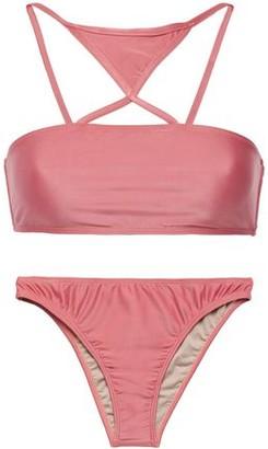 Adriana Degreas Cutout Bandeau Bikini