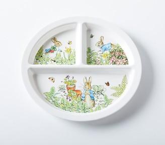 Pottery Barn Kids Peter Rabbit Garden Divided Plate