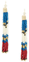 Design Lab Lord & Taylor Beaded Tassel Earrings