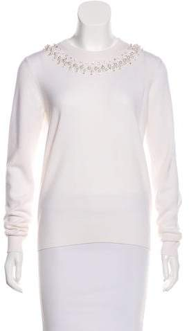 Givenchy Wool Embellished Sweater