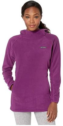 Columbia Basin Trailtm Fleece Pullover (Black) Women's Long Sleeve Pullover