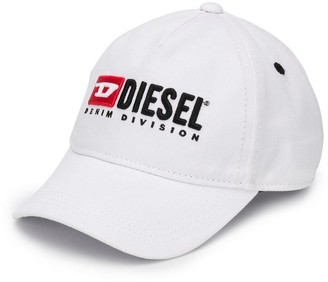 Diesel Contrast Logo Baseball Cap