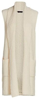 Saks Fifth Avenue Boucle Vest