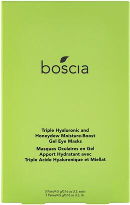 Boscia Triple Hyaluronic and Honeydew Moisture-Boost Gel Eye Masks, 5 Pairs