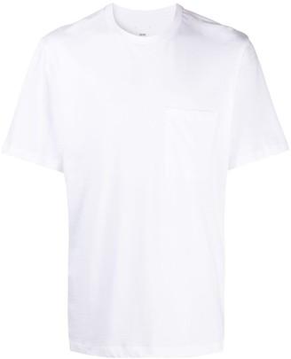 Oamc rear logo floral print T-shirt