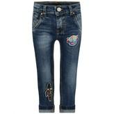 Frankie Morello Frankie MorelloBoys Blue Denim Rainbow Jeans