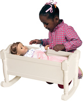 Guidecraft White Doll Cradle