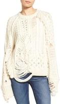Zadig & Voltaire Women's Kary Open Knit Sweater
