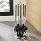 Crate & Barrel Schmidt Brothers ® Ash Wood 6-Piece Kitchen Tool Set