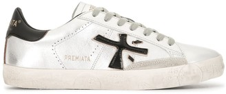 Premiata metallic Stevend 4713 low-top sneakers
