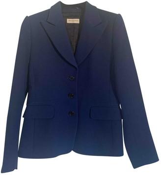 Dries Van Noten Blue Wool Jackets