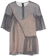Stella McCartney Santi printed silk top
