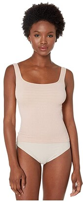 Free People Square One Seamless Cami (Rose) Women's Clothing