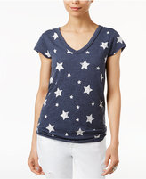 William Rast Viva Stars Printed T-Shirt