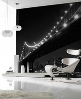 Graham & Brown Brooklyn Bridge Wall Mural Wallpaper