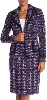 St. John Holiday Tweed Knit Blazer