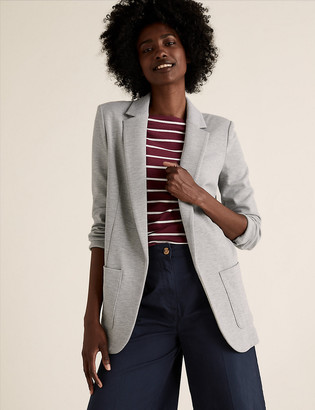 Marks and Spencer Jersey Single Breasted Blazer