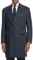 Canali Chevron Coat