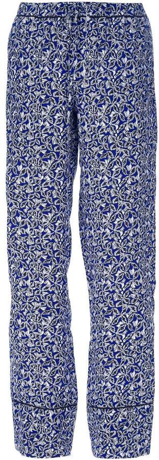 Marni wide-leg silk trouser