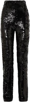 16Arlington Sequined Crepe Straight-leg Pants