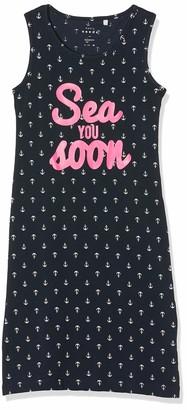 Name It Girl's Nkfvippa Sl Maxi Dress Noos