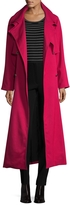 Temperley London Women's Melania Raglan Double Breasted Coat