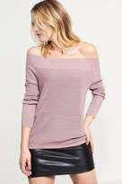 Dynamite Off-The-Shoulder Sweater