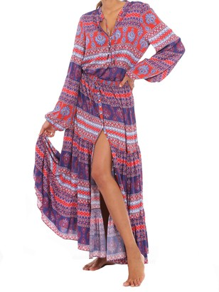 MC2 Saint Barth Gipsy Skirt Boho Chic