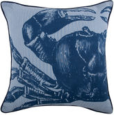 Thomas Paul Crab Seersucker 18x18 Pillow, Blue