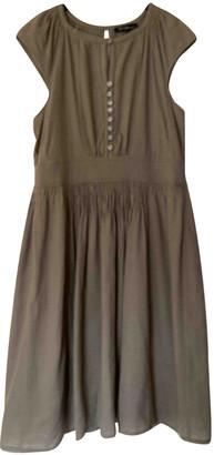Isabel Marant Khaki Wool Dresses