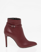 Le Château Buckle Pointy Toe Ankle Boot