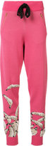 Baja East knitted banana track pants - women - Cotton/Viscose - 0