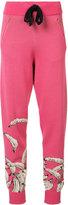 Baja East knitted banana track pants - women - Cotton/Viscose - 0