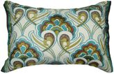 Bed Bath & Beyond Peacock Embroidered Oblong Throw Pillow
