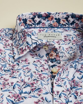 Ted Baker Floral Print Cotton Shirt