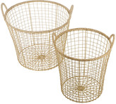 Thumbnail for your product : Retreat - Jute Storage Basket - Set of 2