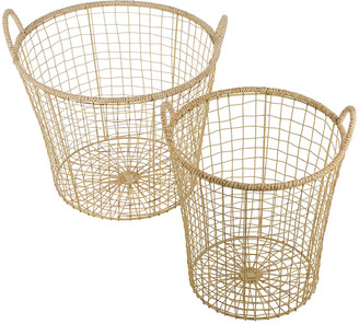 Retreat - Jute Storage Basket - Set of 2