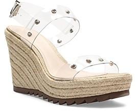 Schutz Women's Holly Espadrille Platform Wedge Sandals