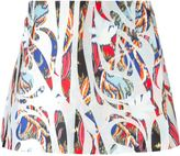 Antonio Berardi printed skirt - women - Silk/Polyester - 38