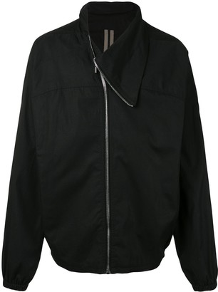 Rick Owens Ritual-Print Funnel-Neck Jacket