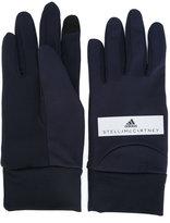 adidas by Stella McCartney Run gloves - women - Polyester - S